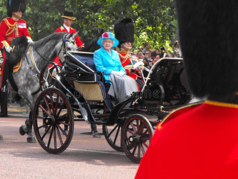 england drottning arkivbild
