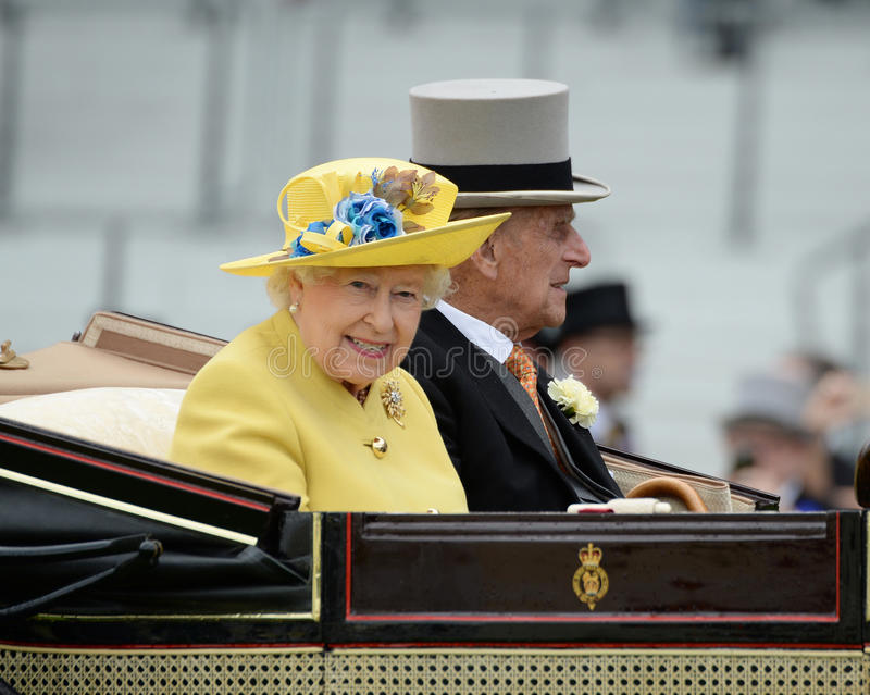 england drottning royaltyfria foton