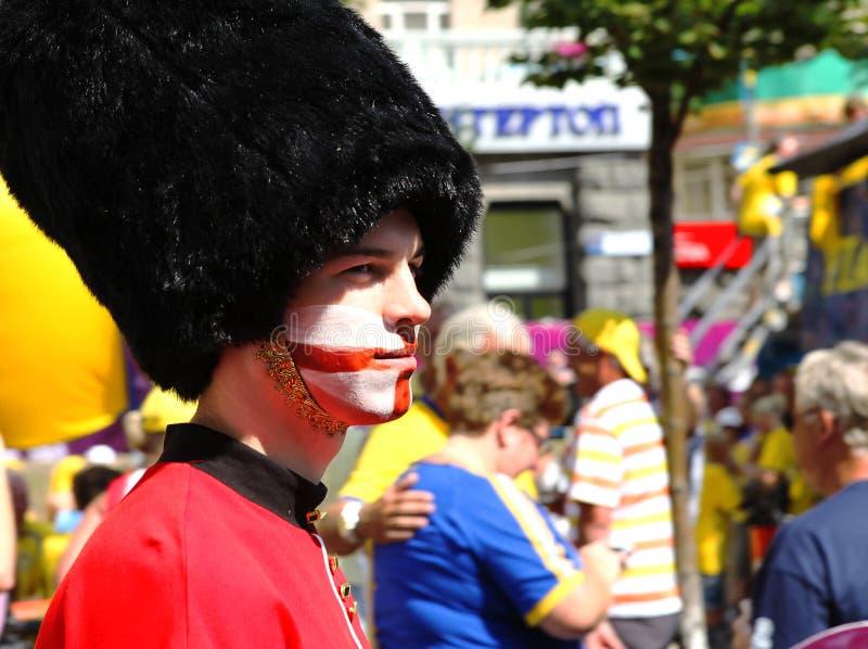 England fan portrait