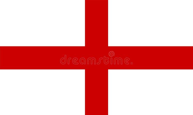 England flag. The national flag of England