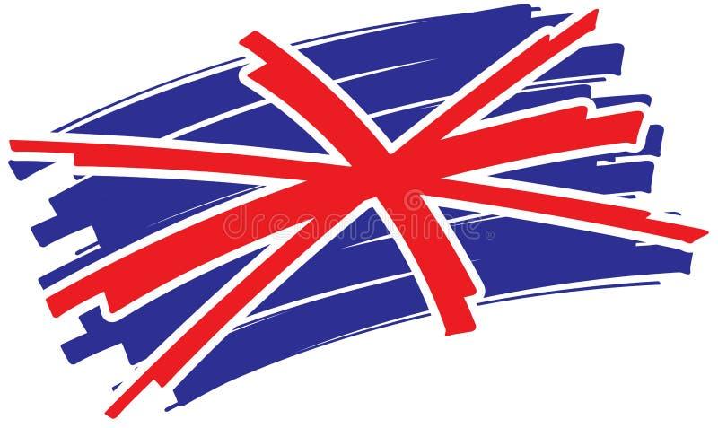 england flagga royaltyfri illustrationer
