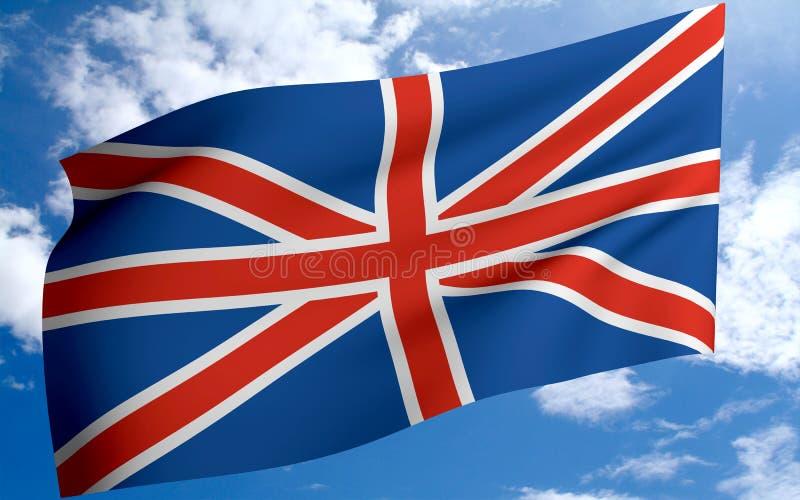 england flagga vektor illustrationer