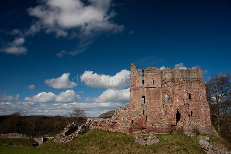 england grodowy norham Northumberland fotografia royalty free