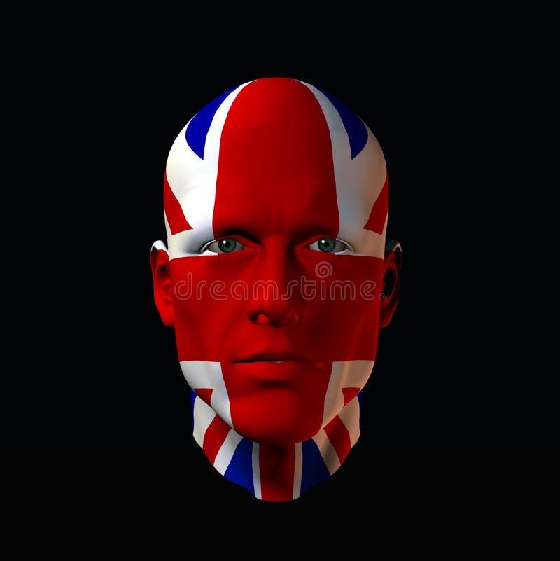 England Head 1 stock illustration