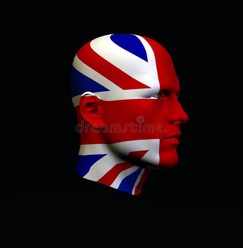 England Head 3 stock illustration