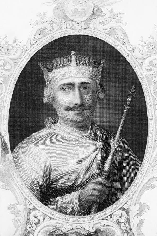 england ii konung william royaltyfri illustrationer