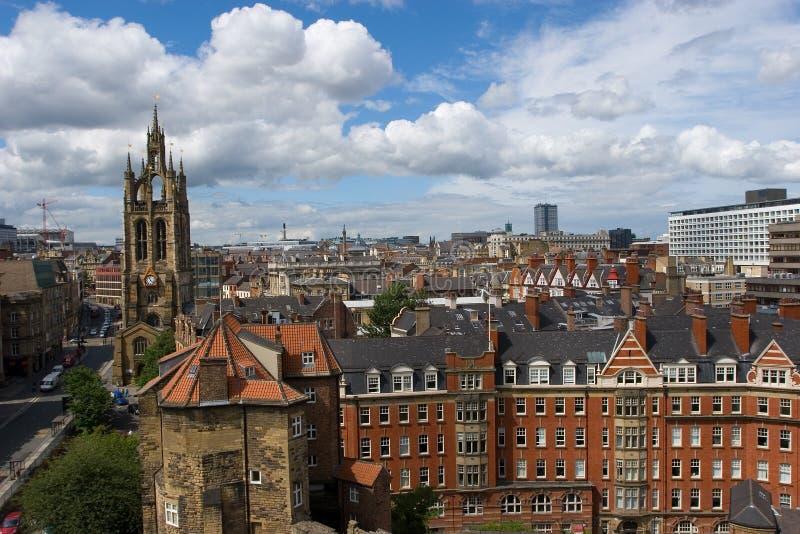 Download England newcastle arkivfoto. Bild av downtown, stad, gata - 981964