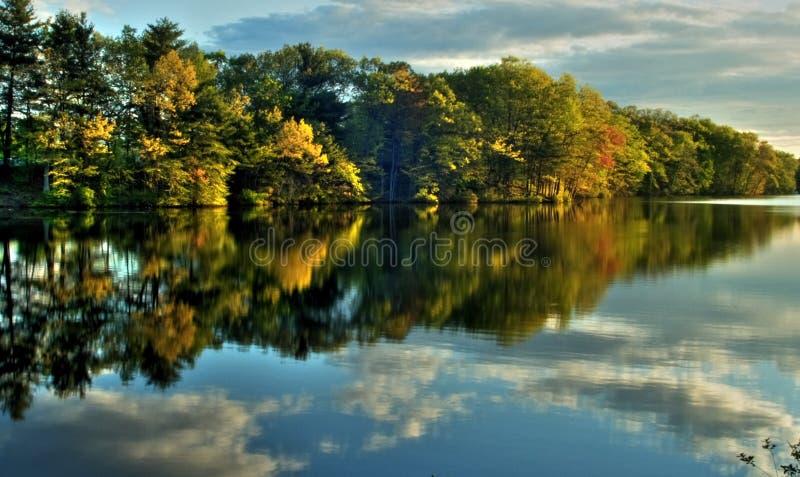 England nowego jesieni fotografia stock