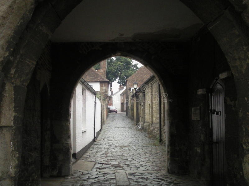England old passage royalty free stock photography