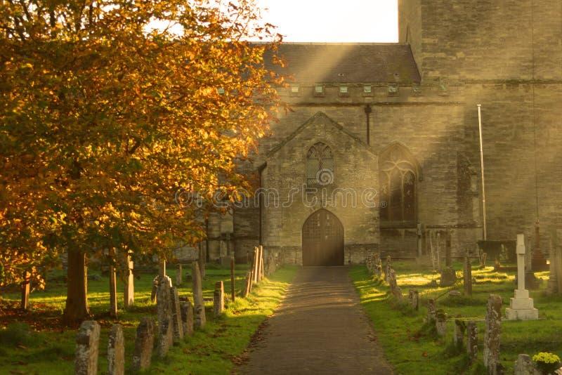 England olney do kościoła fotografia royalty free