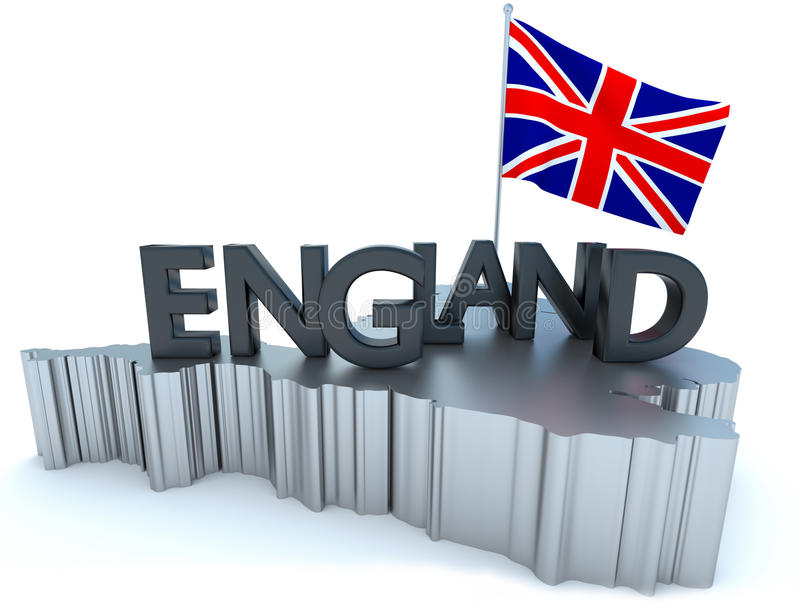 Download England Tribute stock illustration. Image of great, pole - 16071805