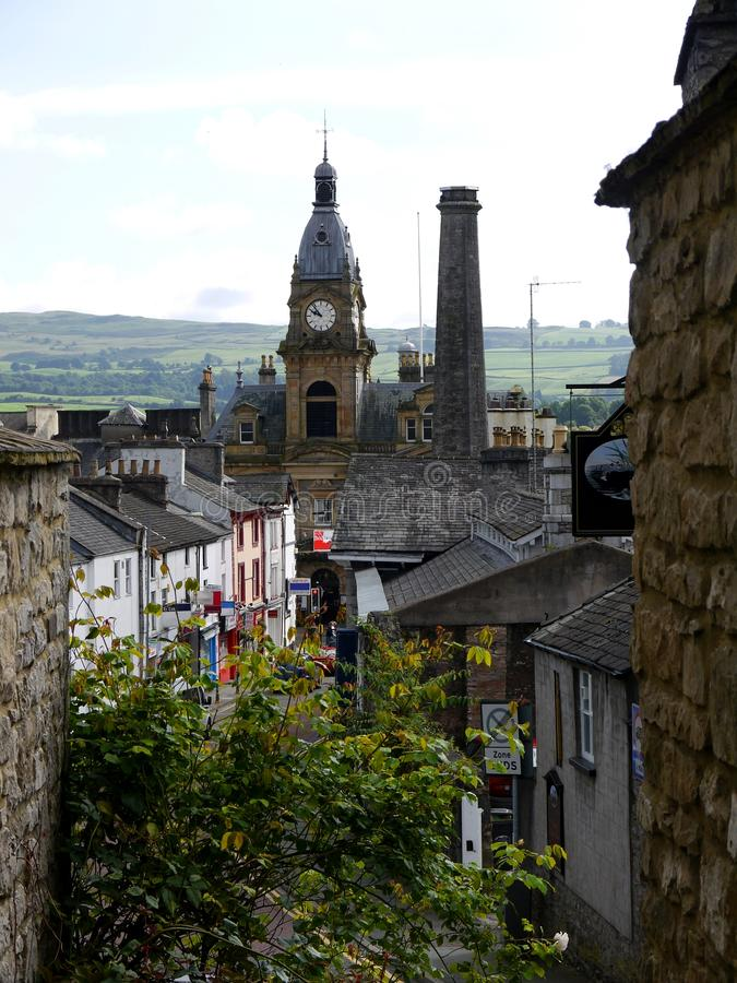 Download England: View Of Kendal Town Hall Stock Photo - Image: 26170820