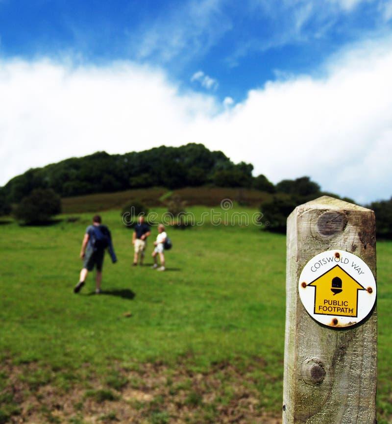 England-Wandern lizenzfreie stockfotos