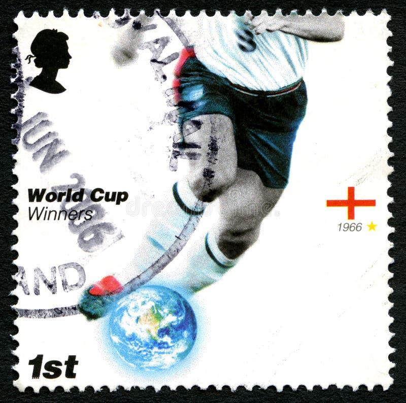 England-Weltcup-Sieger-BRITISCHE Briefmarke stock abbildung