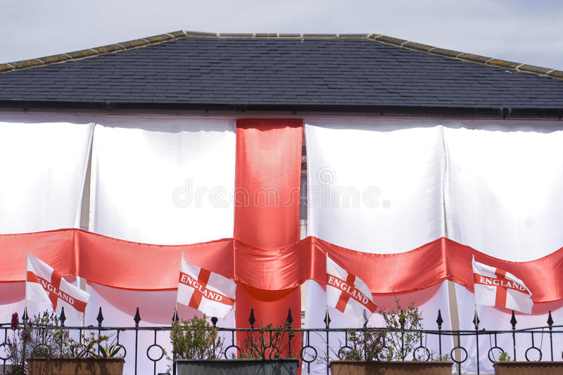 England world cup house royalty free stock photography