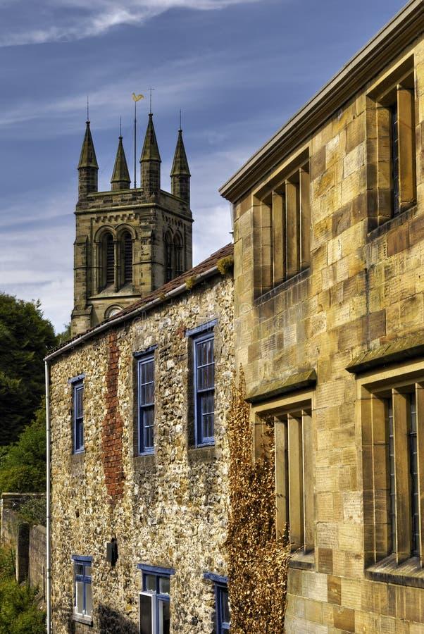 Englische Architektur lizenzfreie stockbilder