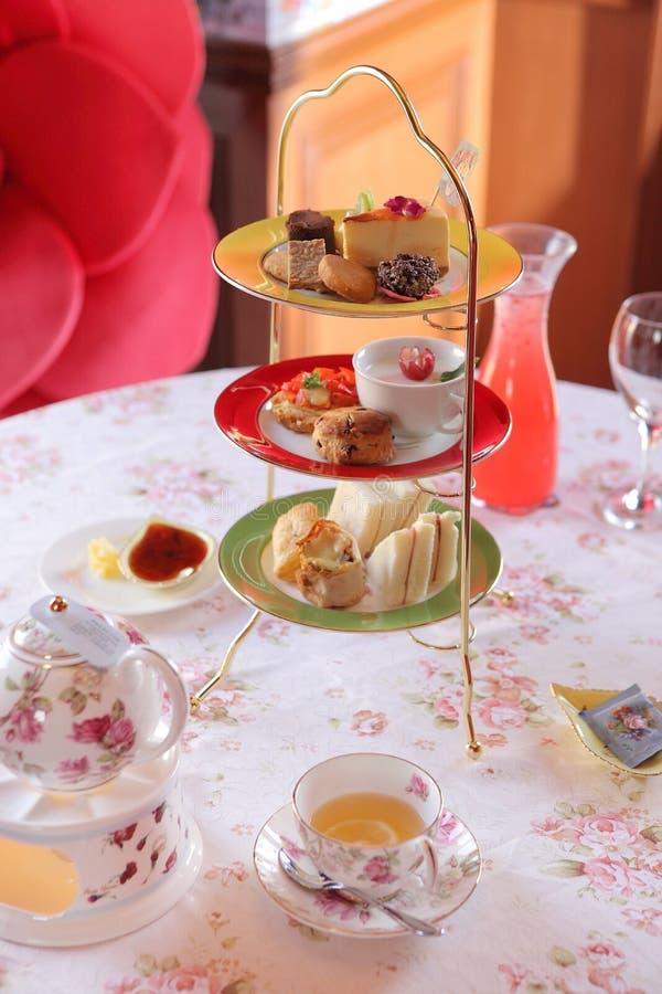 Englische Tee-Zeit stockbilder