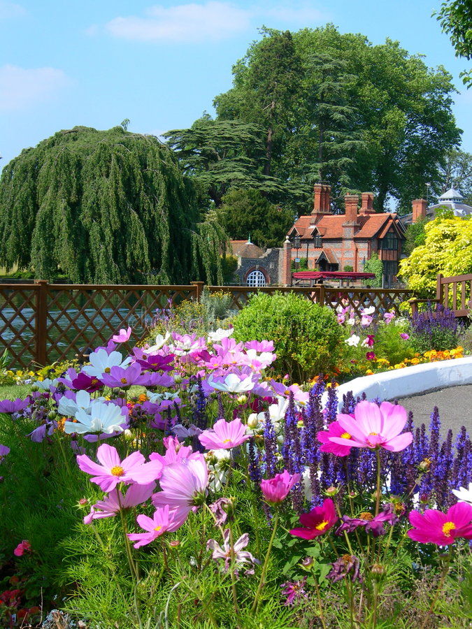 Englischer Garten stockbild
