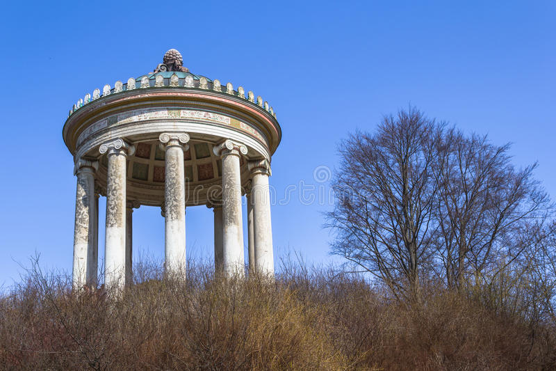 Englischer Garten fotografía de archivo libre de regalías