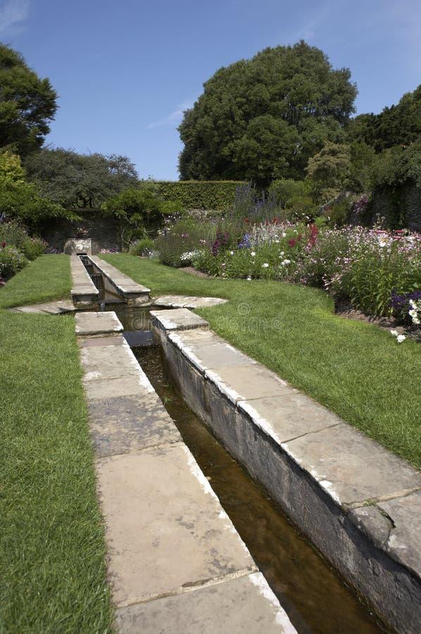 Englischer Landgarten stockfoto