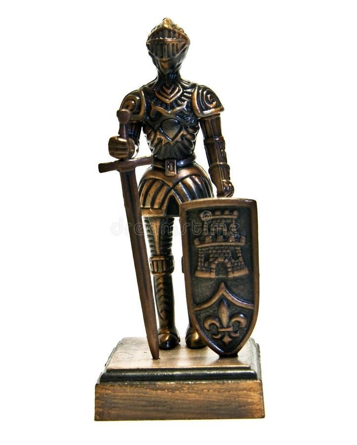 Englischer Ritter, Figürchen stockbild