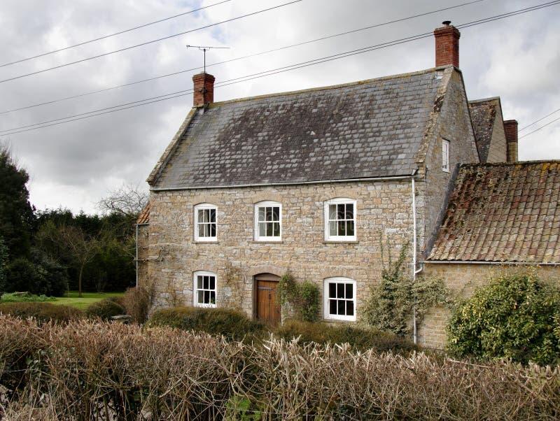 Englisches Bauernhaus lizenzfreies stockbild
