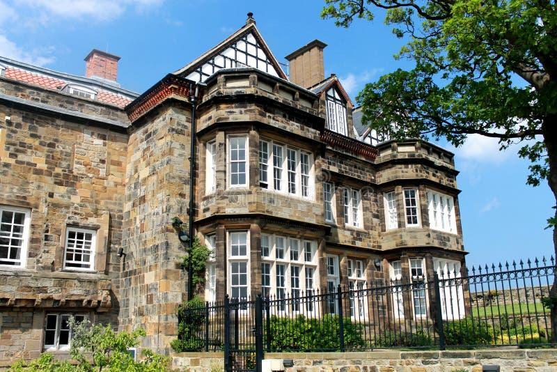 Englisches Landsitz-Haus stockbild