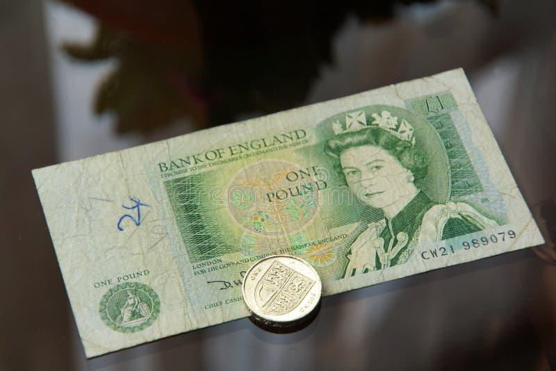 Englisches Pound stockbild