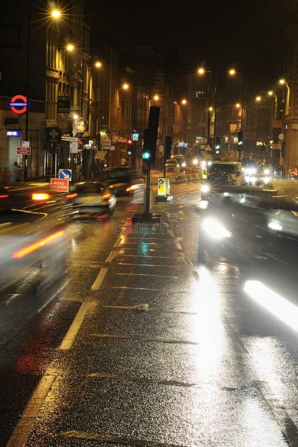 englisches regnerisches Wetter stockbilder