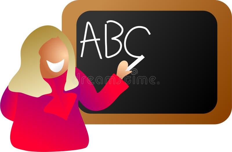 Englischlehrer stock abbildung