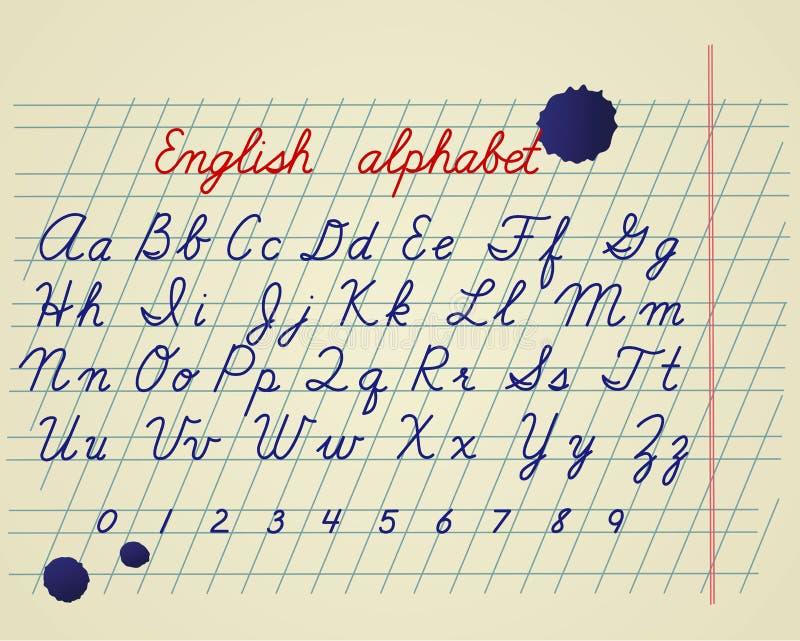 Download English alphabet stock vector. Image of note, gradient - 26914304