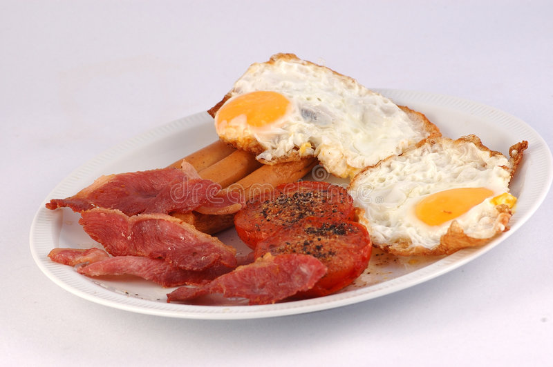 Download English breakfast stock photo. Image of background, full - 2414060