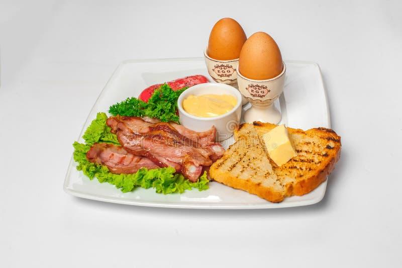 English breakfast. Studio photo stock image