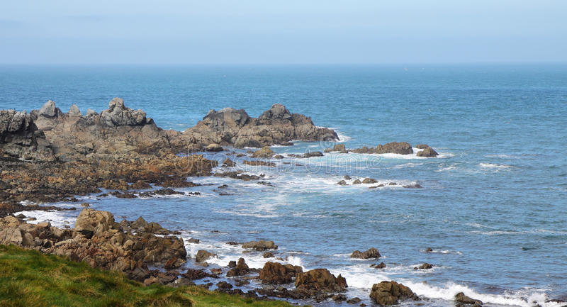 Download English Channel From Lihou Island Stock Photo - Image of guernsey, rocks: 51358542