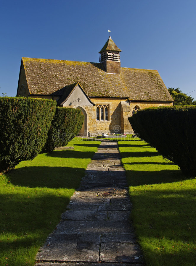 English Church royalty free stock images