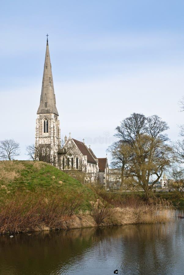 """The English Church"" In Copenhagen Stock Image"
