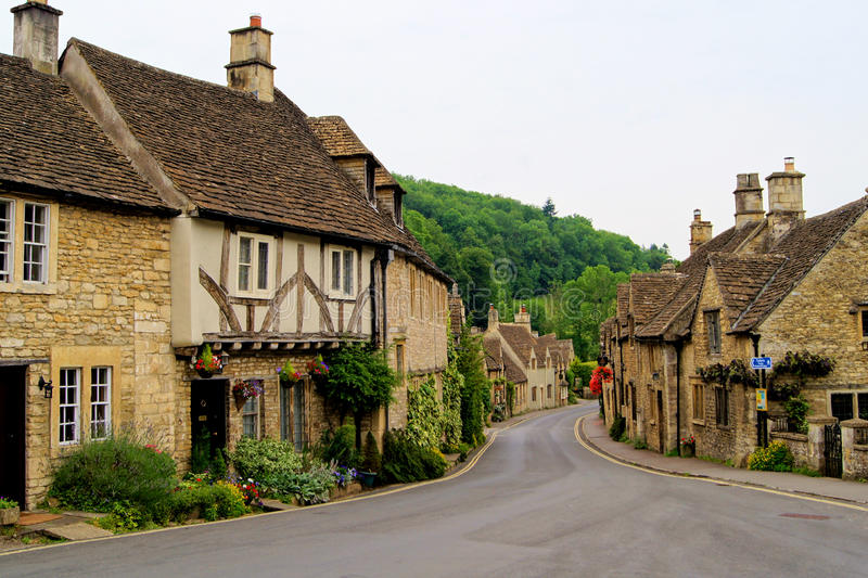 English Cotswolds stock photo