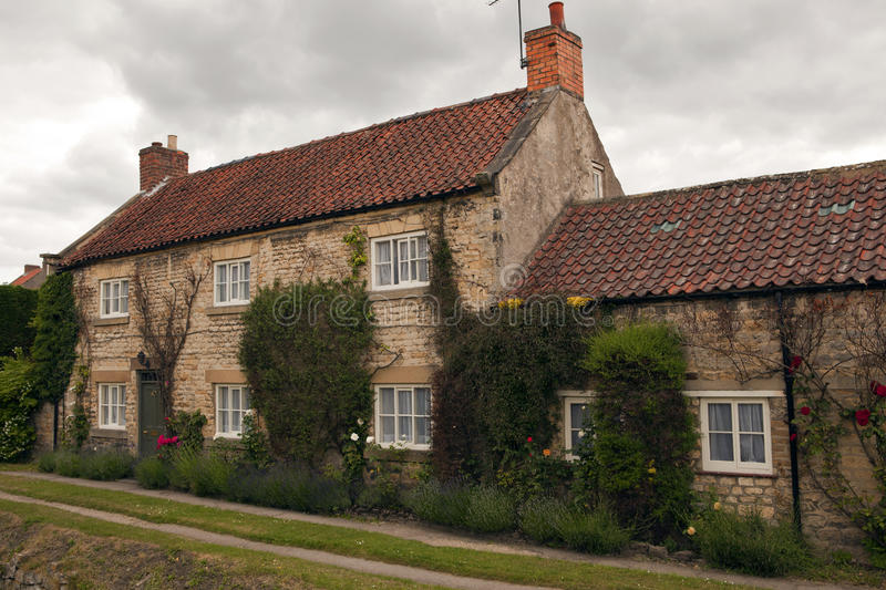 English Cottage. An English cottage in Helmsley North Yrkshire stock image