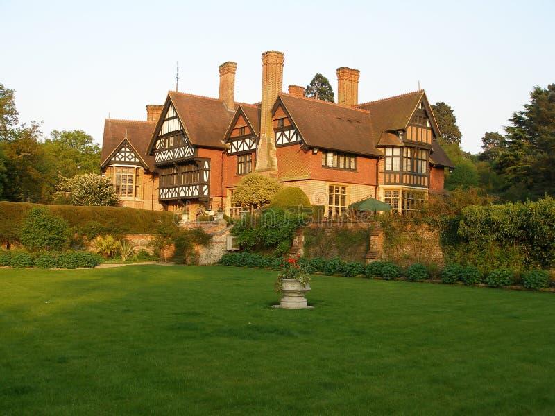English Cottage Mansion stock images