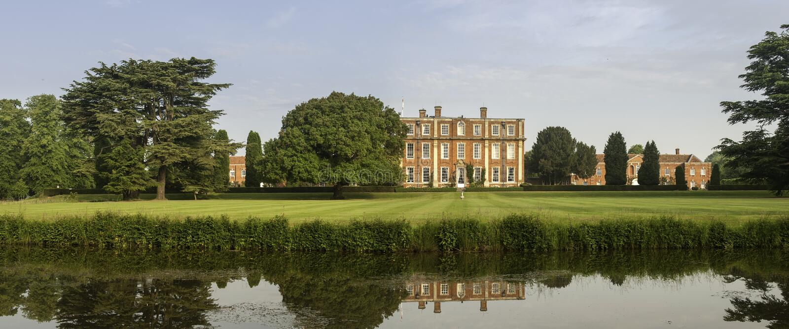 English country estate royalty free stock photography