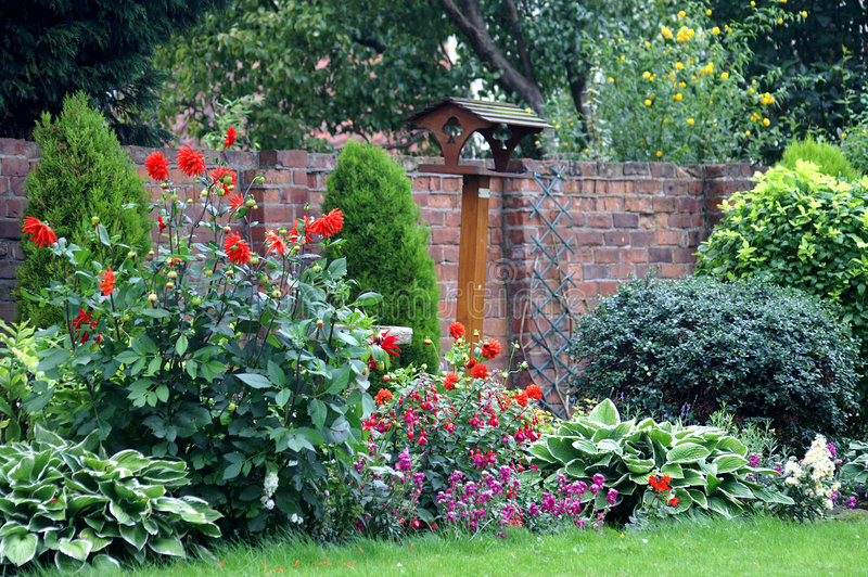 English Country Garden royalty free stock photos