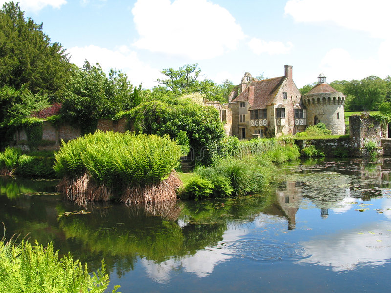 An English Country House stock images