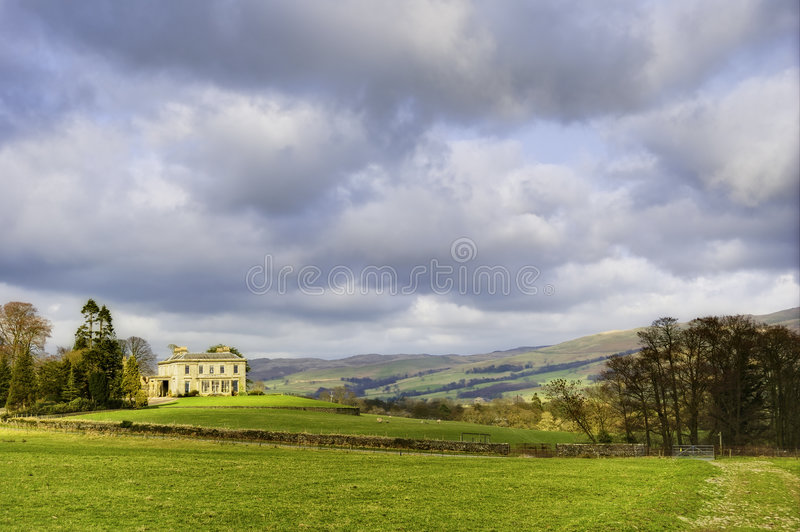 Download English country house stock photo. Image of building, detached - 8666464
