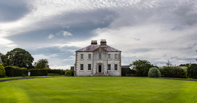 English country house. Dating back to the last Century stock photography