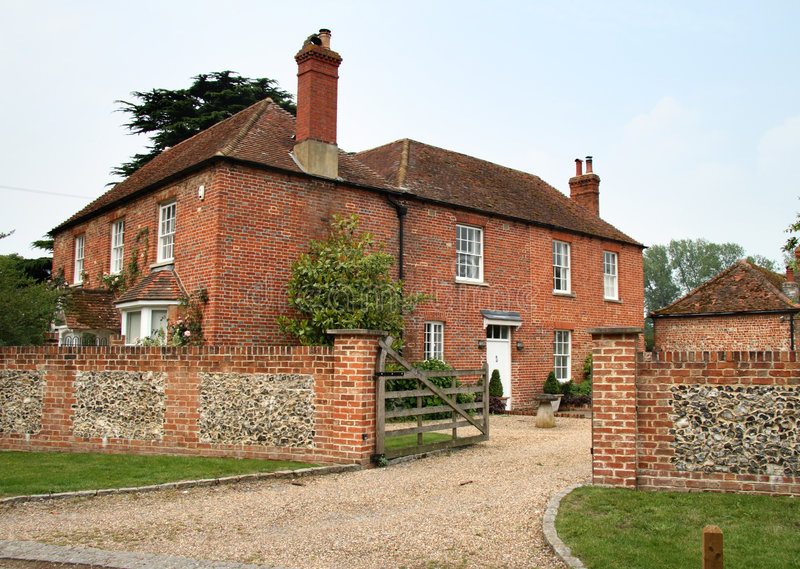 English farmhouse stock photo image of rustic rural for Farmhouse brick
