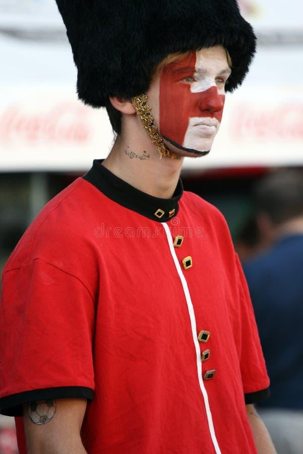 English football fan stock photos