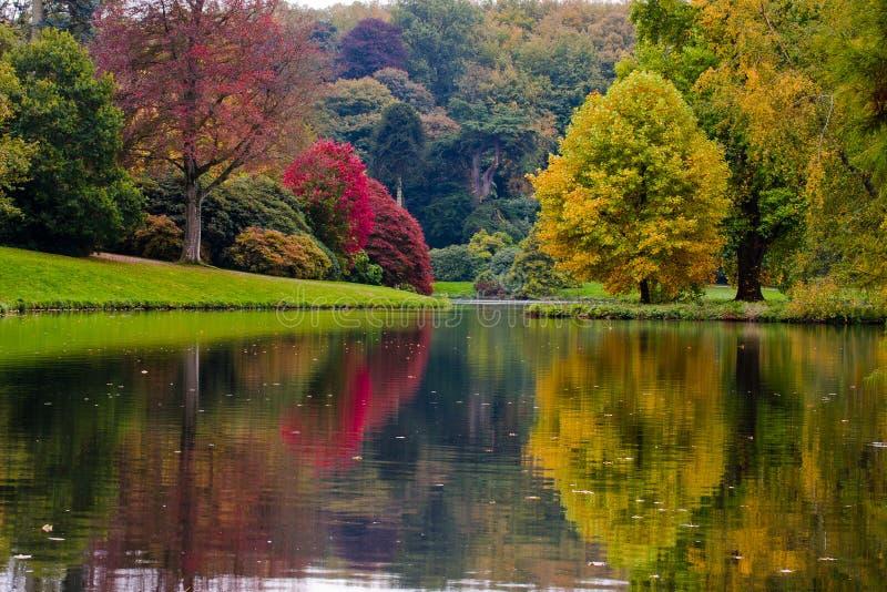 Download English Garden stock photo. Image of trees, garden, lake - 16566756