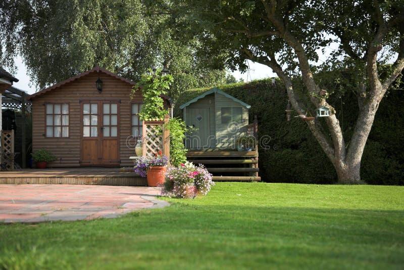 English garden royalty free stock photography