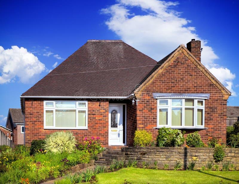 English garden home stock image