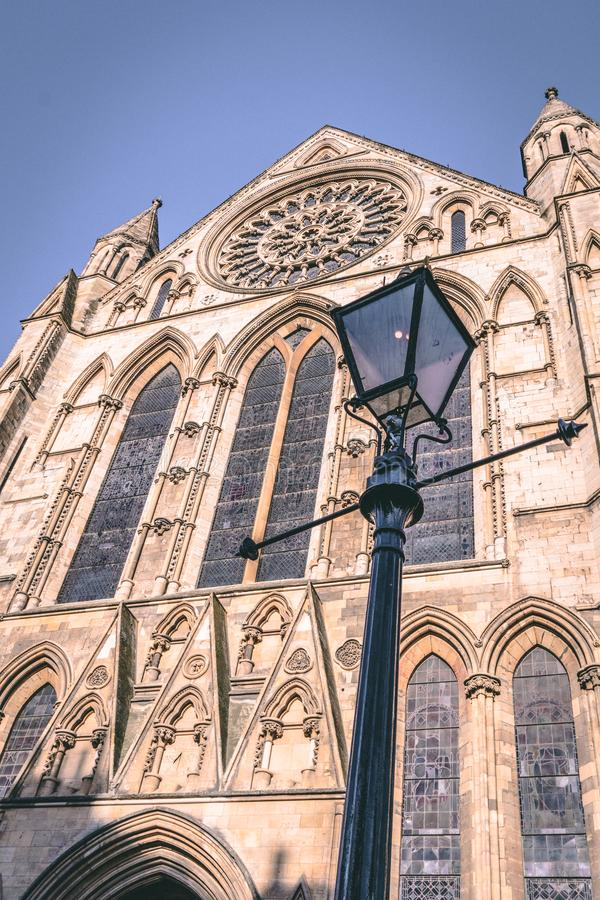 English Heritage - Roman Gothic Cathedral stock image